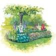 База отдыха Снежинка - иконка «сад» в Рубцовске
